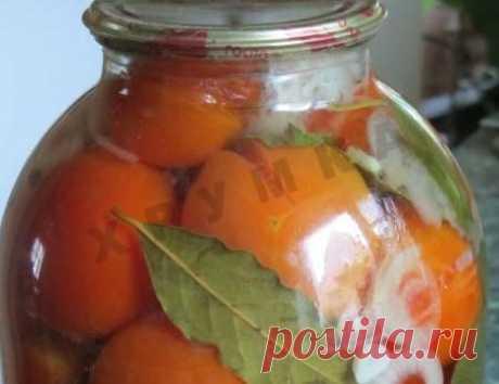 Консервированные маринованные помидоры с чесноком на зиму и 15 похожих рецептов: пошаговые фото, калорийность, отзывы