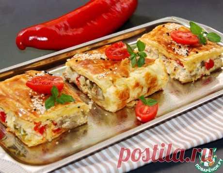 Куриный пирог-суфле – кулинарный рецепт