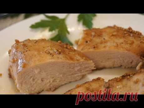La pechuga de pollo fenomenal Jugosa.