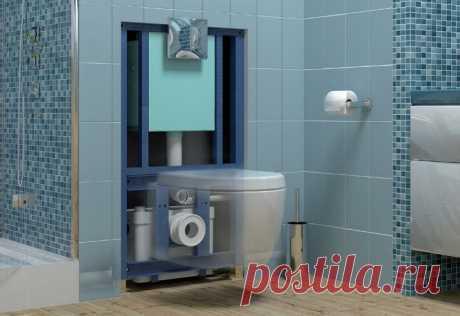 Насос сололифт для принудительной системы канализации
