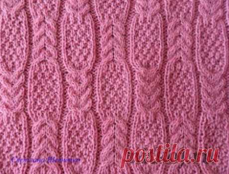 Узор для ажурных кофт и пуловеров » Ниткой - вязаные вещи для вашего дома, вязание крючком, вязание спицами, схемы вязания