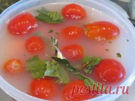 Квашеные помидоры — Мой садочек