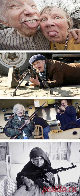 Прикольные фото стариков и старушек (смешные дедушки и бабушки)