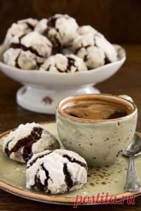 chocolate and coffee cookies