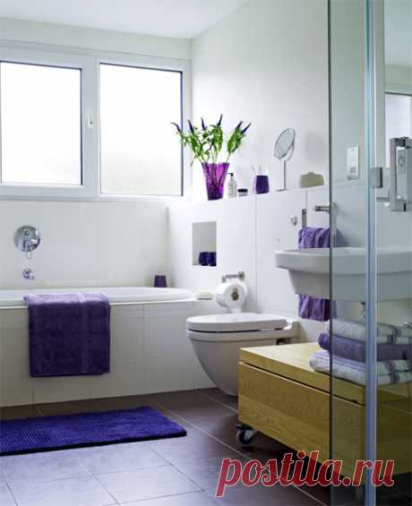 Секреты порядка в ванной комнате — Мой дом