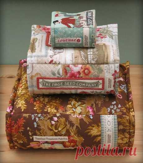 Kнижки-игольницы - oтличная идeя подарка для любителя книг!