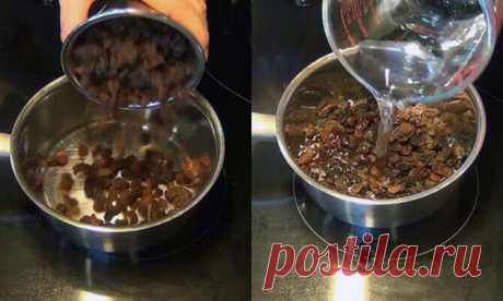 How to clear a liver by means of raisin and water in only 2 days