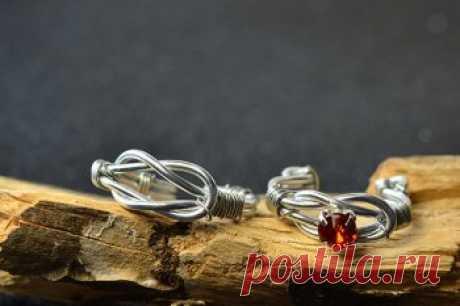 Кольца из серебряной проволоки своими руками — ОчУмелые ручки