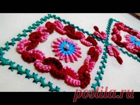 Hand Embroidery: Border Embroidery