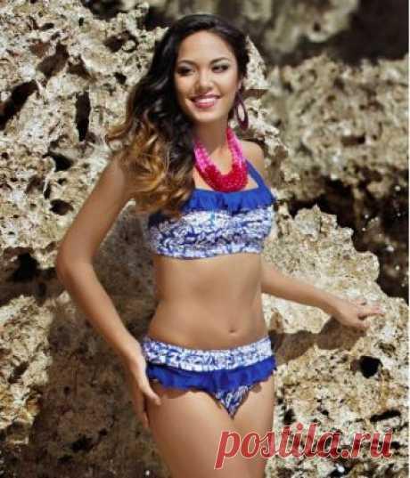 Buy The Lalos Blue Halter Neck Bikini   Jamu Australia