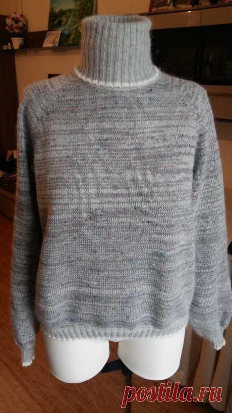 И снова о важности ВТО - влажно тепловой обработке. Ну и мой новый теплый свитер | Бисер, творчество, рукоделие, МК | Яндекс Дзен