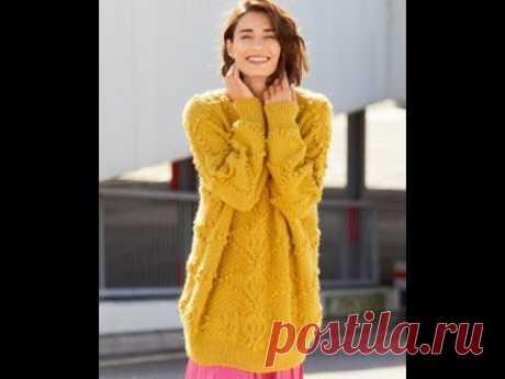Вязаный Свитер для Милых Женщин - 2020 / Knitted Sweater for Lovely Women