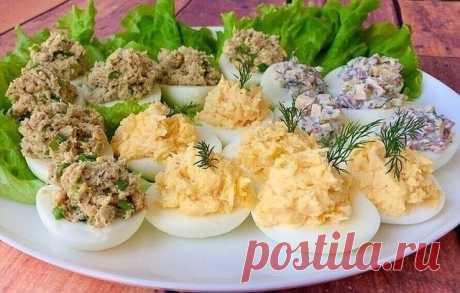 25 начинок для фаршированных яиц на любой вкус и кошелек: готовится на раз-два, а уходит на ура Рецепт холодной закуски, которую приготовить легко, а кушать вкусно.
