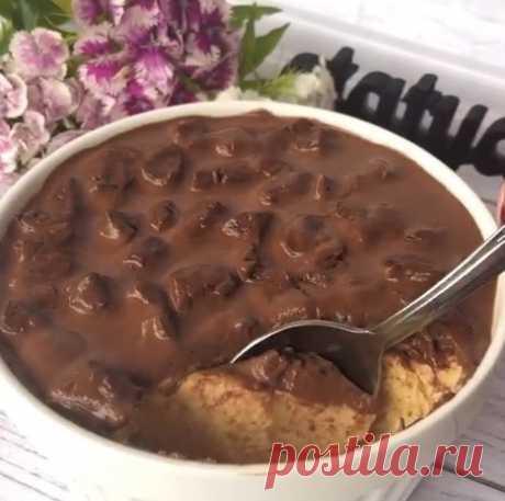 Лёгкий десерт-суфле без выпечки (by @tatyana_pp_fit)  Кто бы мог подумать, что из ряженки с цикорием получается такой вкусный десерт со вкусом крем-брюле  КБЖУ 1 порции: 140/8/6/13 ⠀ (Без украшения вообще  80/7/3/5.5)   Рецепт (на 2 порции): Ряженка (у меня 2.5%) - 250 г Вода - 50 мл Цикорий - 1-2 ч.л. Желатин (у меня быстрорастворимый) - 7 г Подсластитель (у меня фит-парад 3 мерные ложечки)  Для украшения: Горький шоколад - 15 г Молоко - 1-2 ст.л. Чернослив - 15 г ⠀  Приг...