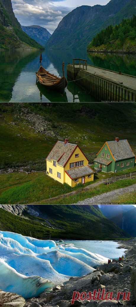 >> В горах Норвегии   ФОТО НОВОСТИ