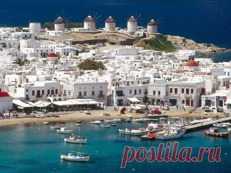 Остров Миконос - жемчужина Киклад - Путешествуем вместе