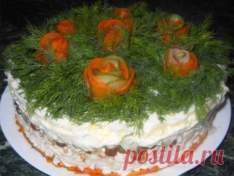ТОП -21 Потрясающе вкусных и красивых салатов на все случаи жизни! Сохрани на стеночку и поделись с подругами этими сокровищами! :)