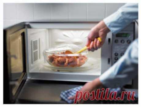 Микроволновая печь приносит пользу или вред