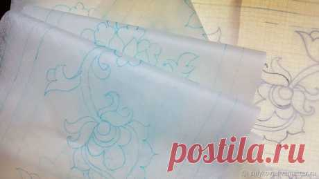 Мастер-класс смотреть онлайн: Трапунто: учимся делать объемную вышивку. Вариант 1 | Журнал Ярмарки Мастеров