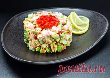 Салат с креветками и авокадо рецепты приготовления