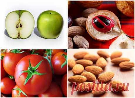 10 ядовитых фруктов и овощей, которые мы едим каждый день : НОВОСТИ В ФОТОГРАФИЯХ