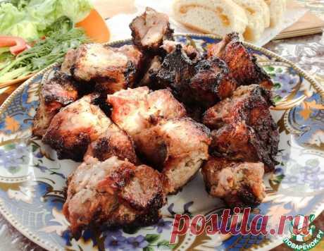 Шашлык в маринаде с киви – кулинарный рецепт