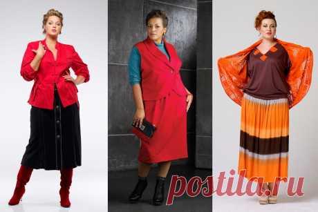 Как выбирать юбки для полных женщин...