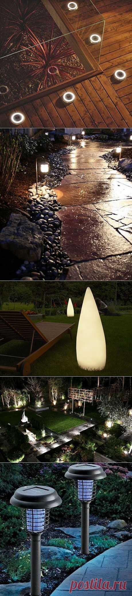Садовые фонари для ландшафтного освещения (37 фото) | Дом Мечты