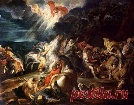 Обращение Павла. Питер Пауль Рубенс. Описание картины, скачать репродукцию.