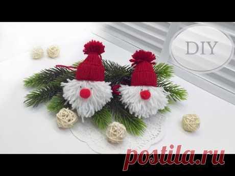 Елочные игрушки своими руками / Новогодние украшения дома и елки - YouTube