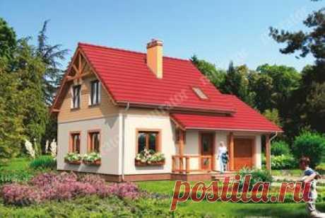Маленькие и недорогие - Проекты маленьких и недорогих домов - proekty-muratordom.com
