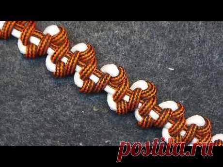 Изготовление браслетов Paracord (Плющ) -