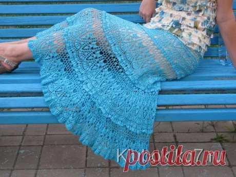 Красивая юбка от Евгении Гришиной. Схема