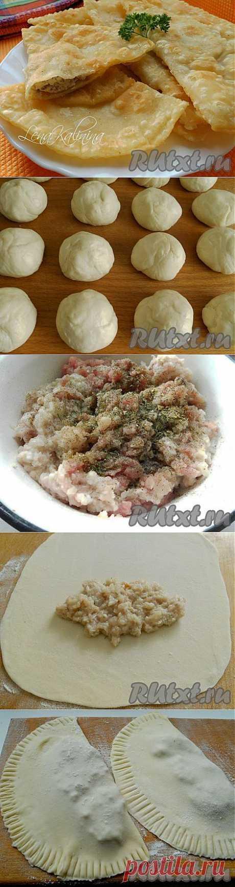 Самые вкусные чебуреки (рецепт с фото) | RUtxt.ru