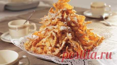 Хворост — Sloosh – кулинарные рецепты