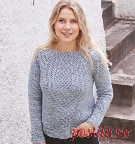 Вязание пуловера Rain Dance - Хитсовет