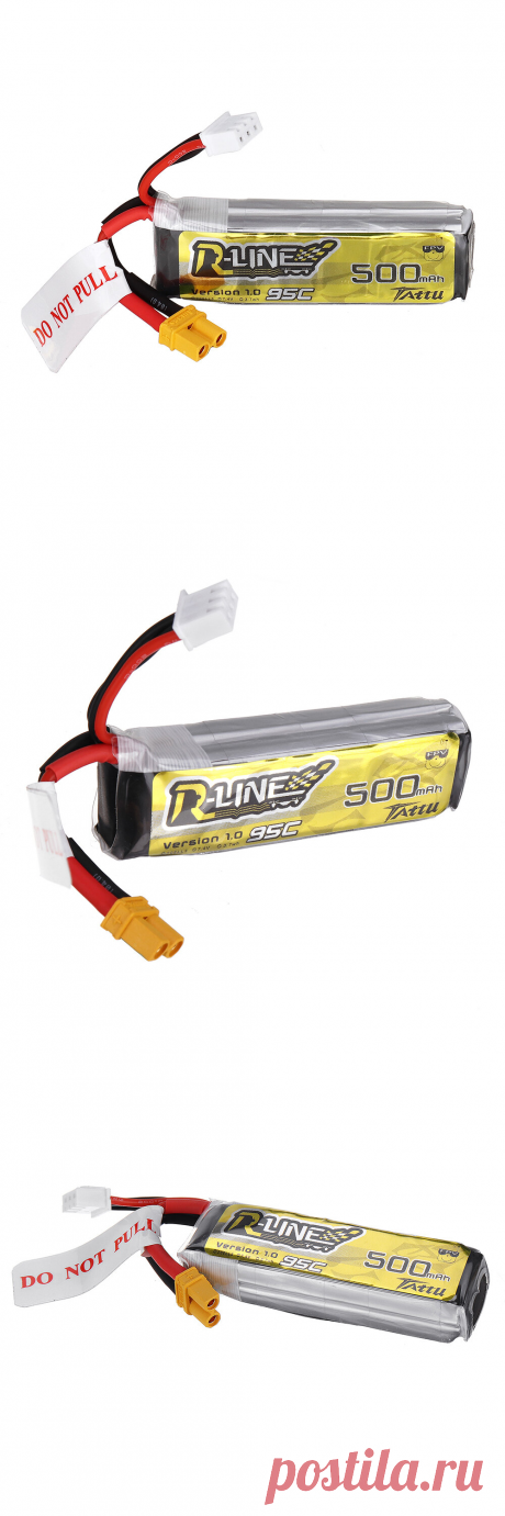 tattu r-line 1.0 7.4v 500mah 95c 2s lipo battery xt30 plug for makerfire armor 85 hd 85mm brushless fpv cinewhoop v2 Sale - Banggood.com