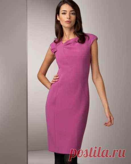 Шьем элегантное платье своими руками. Выкройки платьев | Домоводство для всей семьи.