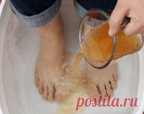 Ванночка для ног для тотального укрепления здоровья