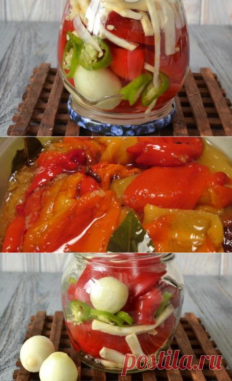 Салат из перца болгарского на зиму: рецепты заготовок с фото