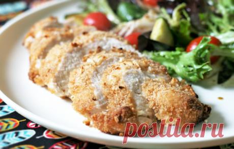Запеченная куриная грудка в луковой панировке Запеченная куриная грудка в луковой панировке - пошаговый кулинарный рецепт приготовления с фото, шаг за шагом.