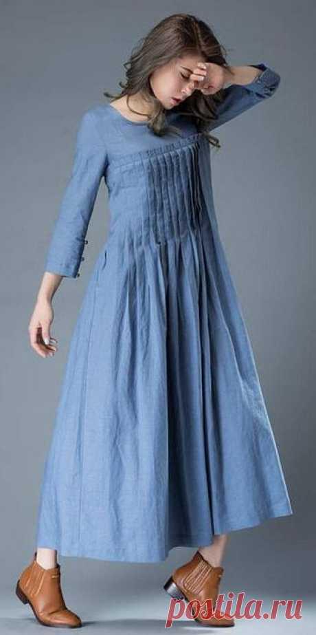 Платье бохо (образец)