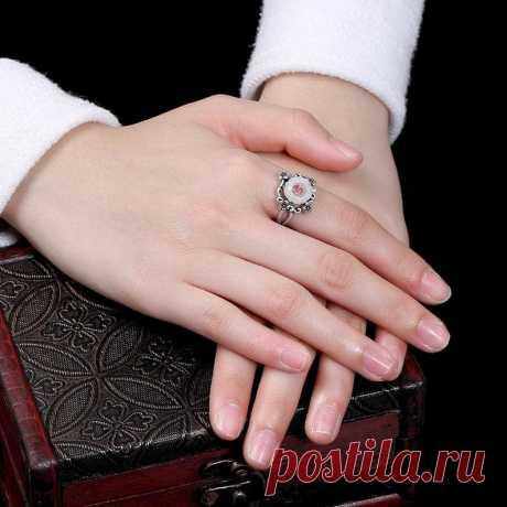 925 Silver Plum Vintage Ring-Bohemian Ring-Plum Mosaic | Etsy