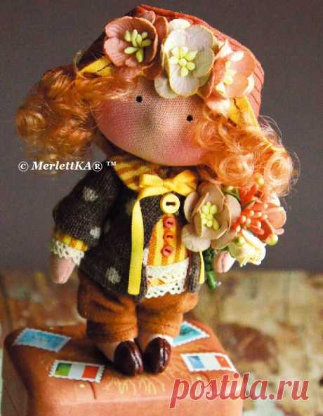 Куколки из ткани и трикотажа - Раскрой ткани и лекала - Тело куклы