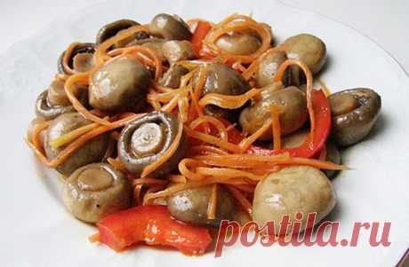 Mushrooms in Korean Raznos0le.ru