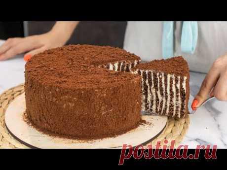 """Очень НЕЖНЫЙ, ШОКоладный, ЛЕГЕНДАрный торт """"СПАРТАК"""" - Я - ТОРТодел!"""