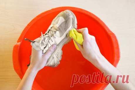 Простое средство для чистки обуви в домашних условиях / Домоседы