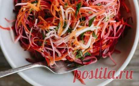 Минутный салат, который можно есть хоть каждый день