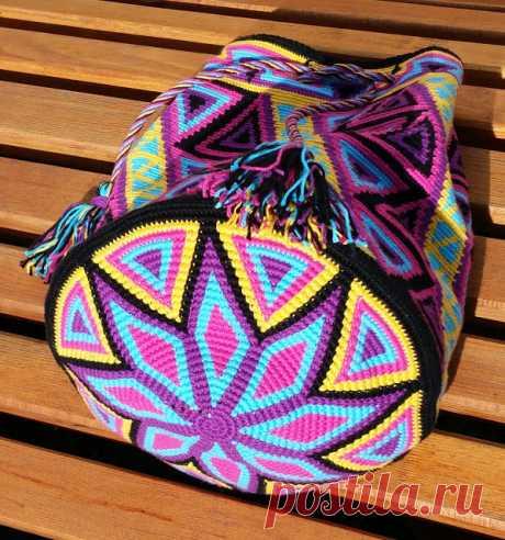 Heikeshäkellust: Wayuu mochila Zwischenstand