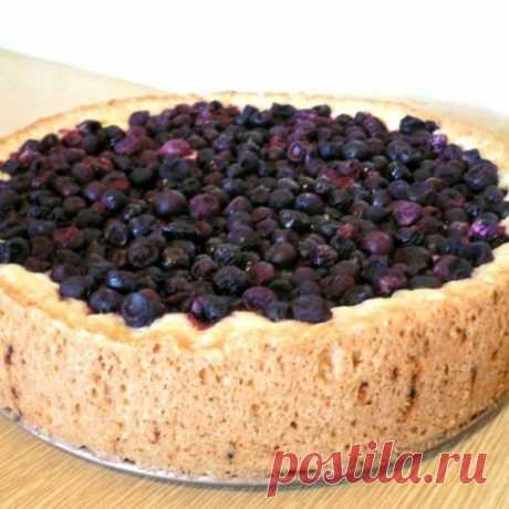 """Cottage cheese """"Лучший berries pie on свете""""!"""